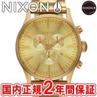 NIXON ニクソン THE SENTRY CHRONO セントリークロノ メンズ腕時計 オールゴー...