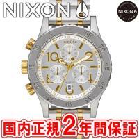 NIXON ニクソン THE38-20 CHRONO クロノグラフ腕時計 シルバー/ゴールド/シルバ...