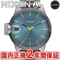 NIXON ニクソン THE CHRONICLE 44 クロニクル44 44mm メンズ腕時計 ガン...