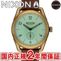 NIXON ニクソン THE C39 LEATHER C39レザー メンズ/レディース腕時計 ブラス...