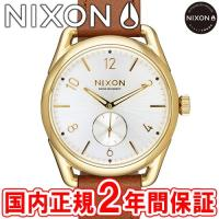 NIXON ニクソン THE C39 LEATHER C39レザー メンズ/レディース腕時計 ゴール...
