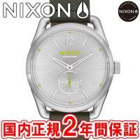 NIXON ニクソン THE C39 LEATHER C39レザー メンズ/レディース腕時計 シルバ...