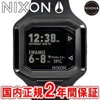 NIXON ニクソン THE ULTRATIDE ウルトラタイド メンズ腕時計 オールブラック NA...