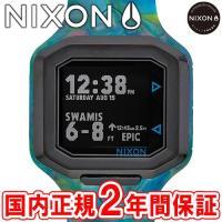 NIXON ニクソン THE ULTRATIDE ウルトラタイド メンズ腕時計 マーブルマルチ NA...