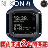 NIXON ニクソン THE ULTRATIDE ウルトラタイド メンズ腕時計 ブルー/ガンメタル ...
