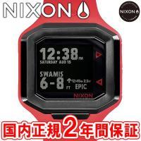 NIXON ニクソン THE ULTRATIDE ウルトラタイド メンズ腕時計 レッド/ガンメタル ...
