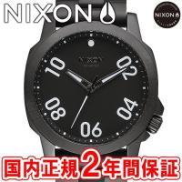 NIXON ニクソン THE RANGER 45 レンジャー45 メンズ腕時計 オールブラック NA...