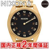 NIXON ニクソン THE GENESIS ジェネシス メンズ腕時計 ワンハンド オールゴールド/...
