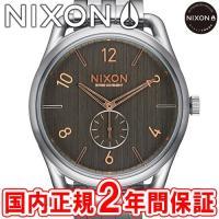 NIXON ニクソン THE C45 SS メンズ腕時計 グレー/ローズゴールド NA9512064...