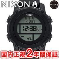 NIXON ニクソン THE UNIT DIVE ユニットダイブ メンズ腕時計 オールブラック NA...