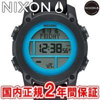 NIXON ニクソン THE UNIT DIVE ユニットダイブ メンズ腕時計 ブラック/スカイブル...
