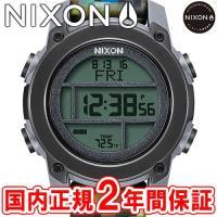 NIXON ニクソン THE UNIT DIVE ユニットダイブ メンズ腕時計 デジタルテック カモ...