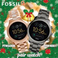 スマートウォッチ フォッシル ペアウォッチ 腕時計 タッチスクリーン ジェネレーション3 ウェアラブ...
