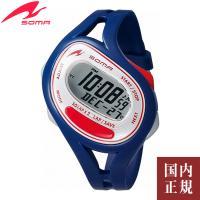 SOMA ソーマ ランニングウォッチ RunONE 50 ランワン50 腕時計 カットオフタイマー ...