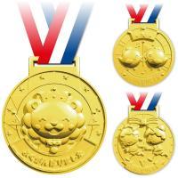 ゴールドバージョンの3Dメダル!本体:約φ80×厚み約14〜15mm ■本体:約φ80×厚み約14〜...