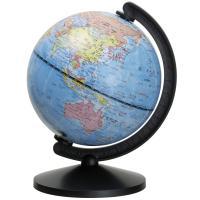 机の上にピッタリのコンパクトサイズ地球儀!小さくても国名が見やすい! ■商品サイズ:H180mm(球...