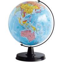 ゆがみ・ズレが少ない日本製の地球儀!   ■商品サイズ:約H310mm(球径Φ230mm) ■商品重...