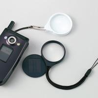 携帯ルーペにストラップとして取り付けるルーペ。38mmレンズサイズの虫眼鏡タイプです。     ■品...