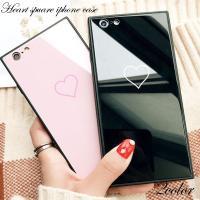 商品名: iPhoneケース スクエア ハート iPhone8 iPhoneX iPhoneXS i...