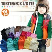 ベーシックな19色展開のあったかタートルネックTシャツ♪   定番のカラー&デザインなので、   色...