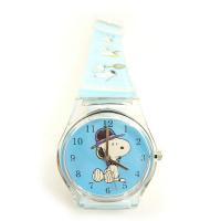 スヌーピーのクォーツ腕時計★ バンド部分にも色んなスヌーピーが描かれてます♪ ★サイズ★ 全長:23...