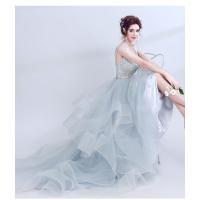 超豪華なロングトレーン♪ロングトレーン♪ウェディングドレス♪高級ウエディングドレス格安.激安お花嫁ドレス結婚式/二次会/パーディ-//花嫁♪|lovesound|12