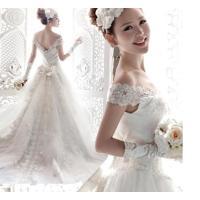 ウェディング♪XXS-XXXXLサイズ選択可!ウェディングドレス 結婚式 パーティー ドレス 二次会...