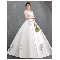 ウェディングドレス ウエディングドレス プリンセスライン 結婚式 花嫁 ロングドレス 披露宴 二次会|lovesound|02