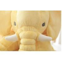ぬいぐるみ 象 抱き枕 ゾウ クッション ぞう 女性人気 子供 プレゼント リアル縫いぐるみ  おもちゃ 動物40cm|lovesound|07