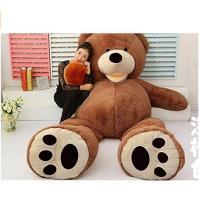 ぬいぐるみ 特大 くま/テディベア 可愛い熊 動物 大きい くまぬいぐるみコストコ クマ ぬいぐるみ (2m)|lovesound|06