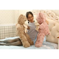 ぬいぐるみ 特大 くま/テディベア 可愛い熊 動物 大きいクマ ぬいぐるみ80cm くま 特大 プレゼント/お祝い ふわふわな手触りがたまらないぬいぐるみ|lovesound|06