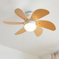 春の木漏れ日に吹く風のように静かで涼しい風をデザイン。シンプルでお部屋にあわせやすいシーリングライト...