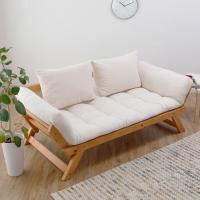 デザイン大国のデンマークでデザインされた、このソファ。お部屋に置くだけで空間を北欧のムードに染めてく...