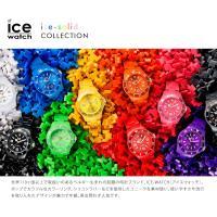 アイスウォッチの定番コレクション「ICE-SOLID」。 軽量で強靭なプラスチック素材ポリアミドプラ...
