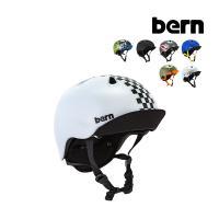 バーン Bern ヘルメット 子供用 ニーノ Nino オールシーズン キッズ ジュニア 男の子 自転車 スノーボード BMX スケートボード VJB
