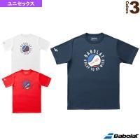 9a8e5bfea20f3 バボラ テニス・バドミントンウェア(メンズ/ユニ) 半袖Tシャツ/カラープレイライン/ユニセックス(BTUMJA32) |テニス・ソフトテニス(軟式 テニス)・ ...