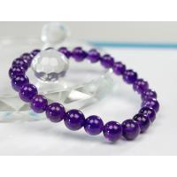 【パワーストーンの意味・言われ】  アメジスト[紫水晶]:真実の愛、直感力を高める・強い魔よけのパワ...