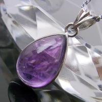 【パワーストーンの意味・言われ】 アメジスト[紫水晶]:真実の愛、直感力を高める・強い魔よけのパワー...