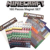 MINECRAFT ( マインクラフト ) のマグネットセット。 ノートパソコンや冷蔵庫などにはって...