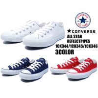 COLOR: (WHITE)(NAVY)(RED) CONVERSE ALL STAR REFLEC...