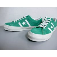 COLOR:GREEN CONVERSE STAR & BARS J SUEDEになります。...