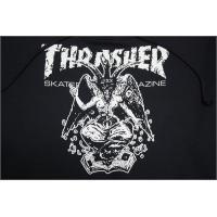 THRASHER パーカー Barphomet HOODIE NVY/WHT ネイビー TH95211 スラッシャー