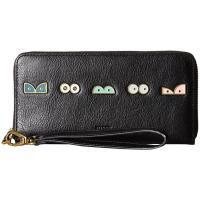 フォッシル Emma RFID Large Zip Clutch レディース 財布 Black