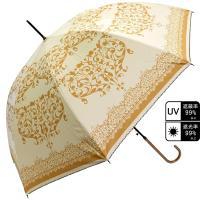 大人っぽいダマスク柄のジャンプ傘! 傘を開けたときのインパクト大です。 雨の日が楽しくなりますよ☆ ...