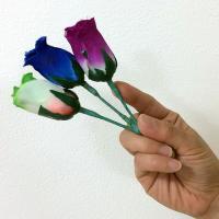 あなたの指先に真っ赤な3輪の薔薇が次々と出現!【取出】【薔薇】
