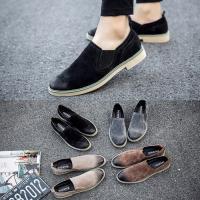 ショートブーツ メンズ 靴 サイドゴアブーツ カジュアルシューズ 無地 大きいサイズ 紳士靴 全4色...