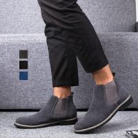 ショートブーツ メンズ 靴 ワークブーツ カジュアル シューズ エンジニアブーツ チャッカブーツ 裏...