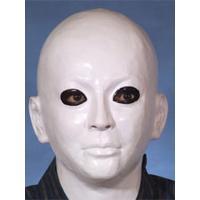面白い!怖い!気持ちわるい!と大好評の白ぬりラバーマスク♪犬神家のスケキヨさんの仮装にも使える真っ白...