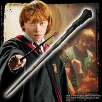 ハリーポッターの親友、ロンの杖(レプリカ)です。 ハリーのよき友、時にはライバルとして数々の冒険を共...
