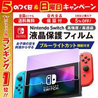Nintendo Switch フィルム ガラスフィルム ブルーライト カット ガラス 保護 ニンテンドースイッチ
